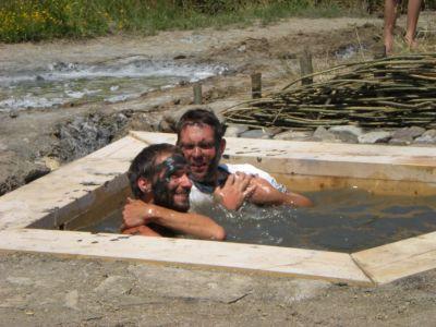 Băile Tradiţionale Cu Nămol din Canionul de Sare